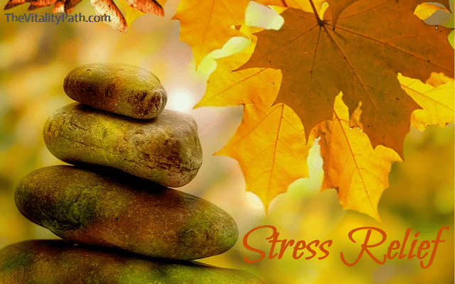 Reducing your stress level is crucial, especially while you're trying to heal.